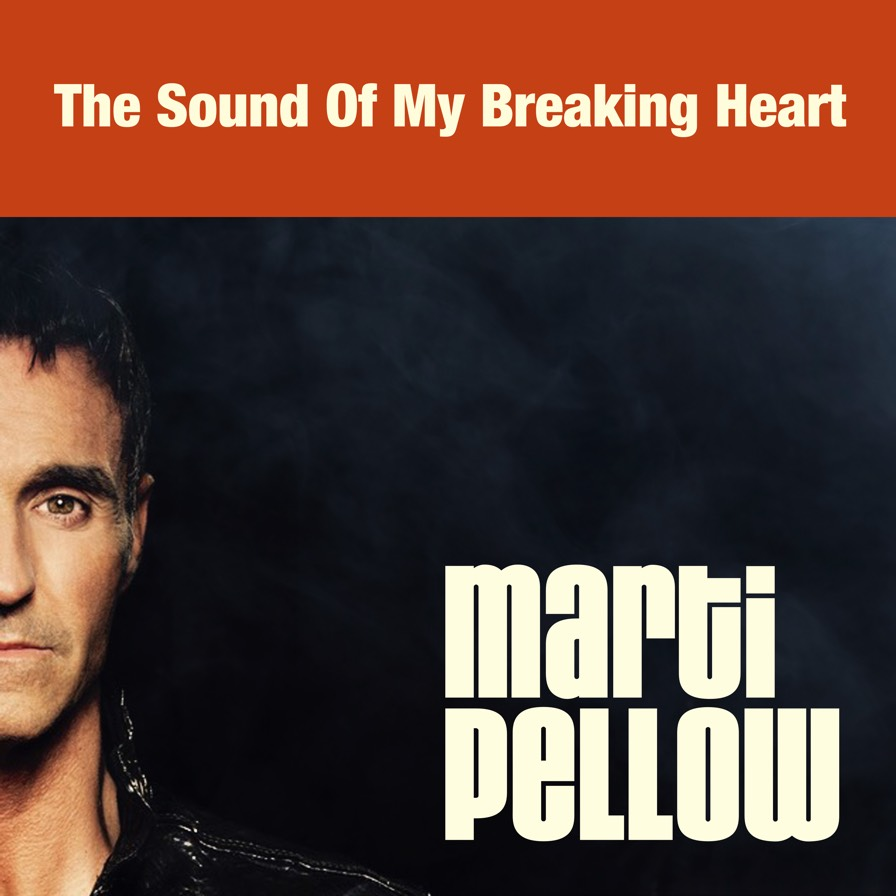 The Sound of My Breaking Heart Single Cover